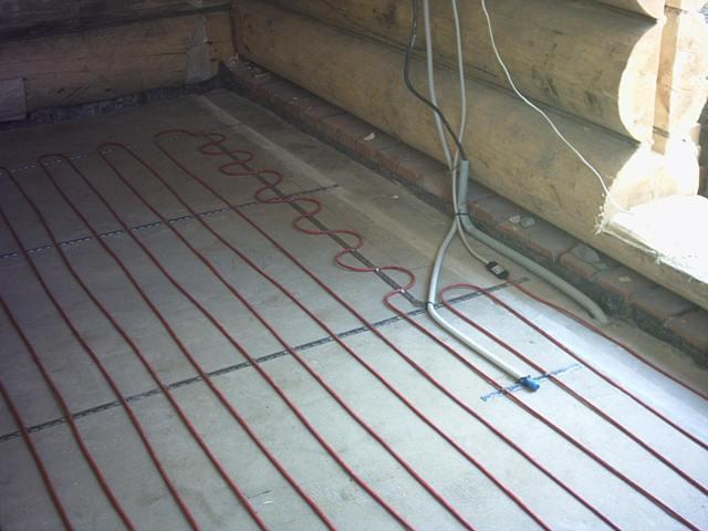 Электрический кабель, частный дом